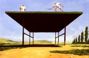 1995-squalifica-di-campo-cm-24x30-olio-su-tela
